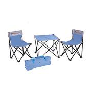 纵贯线 4PCS 四件套休闲椅ST-09 蓝色 单品牛津包 牛津布、钢管等