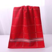 潔麗雅 6633 多臂彩條方格緞檔毛巾 10條 混色
