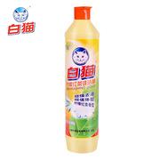 白猫  柠檬红茶洗洁精 500G  主产品*1 白猫柠檬红茶洗洁精500g5.8洗洁精500G