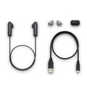 索尼 WI-SP500 蓝牙耳机 160g 黑色