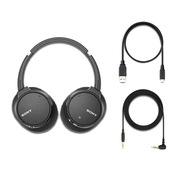 索尼 WH-CH700N 蓝牙耳机 600g 黑色
