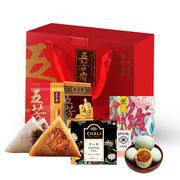 五芳斋  138型端午礼盒 粽子*6;咸鸭蛋*4;茶2.5g*7;红高粱米380g 原色