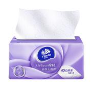 维达 V2885 维达立体美3层110抽抽取式面巾纸 6包/提*3