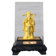 舒鑫 HLL-31 金財神小 150*120*210mm 金色 錦盒包裝 優質塑料罩 造型飽滿