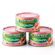 西部約翰  番茄洋蔥三文魚罐頭 95g*10