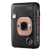 富士 mini LiPlay 拍立得数模一次成像相机(具有手机照片打印功能) 150*70*90mm 原色